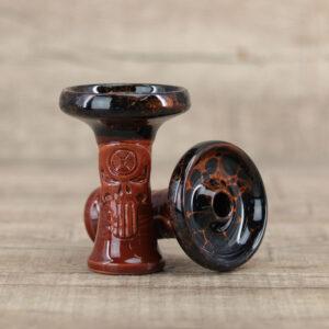 Alchimik Phunnel-Black Orange Marble - Shisha-Dome