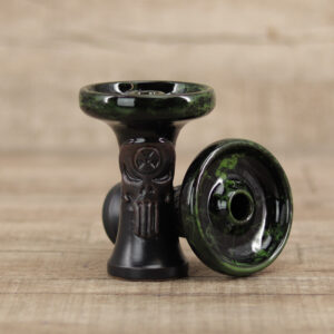Alchimik Phunnel-Dark Green Marble - Shisha-Dome