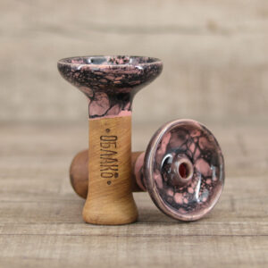 Oblako Phunnel-M Glazed Marble Pink Black - Shisha-Dome
