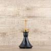 Vyro Versa-Gold mit Mini Steck Bowl Black - Shisha-Dome